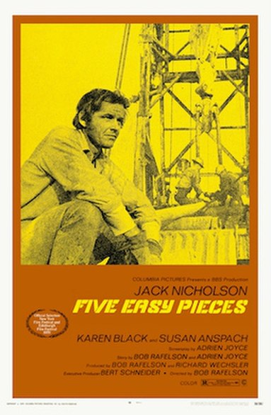 Five Easy Pieces (1970) movie poster