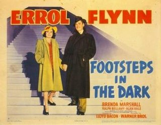 <i>Footsteps in the Dark</i> (film) 1941 film by Lloyd Bacon