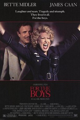 For the Boys (1991 film) poster