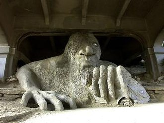 Fremont, Seattle - The Fremont Troll