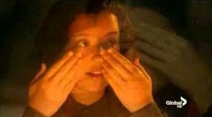 """Ziva David - Young Ziva (Gabi Coccio) saying the Shabbat blessing in """"Shiva"""""""