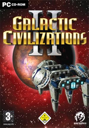 Galactic Civilizations II: Dread Lords - Image: Galactic Civilizations II Dread Lords Coverart
