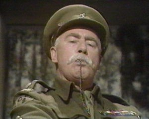 Geoffrey Lumsden - Geoffrey Lumsden as Captain Square in Dad's Army