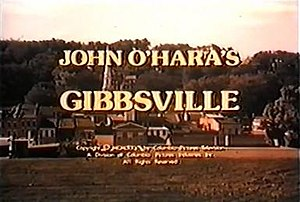 Gibbsville (TV series) - Image: Gibbsville title card