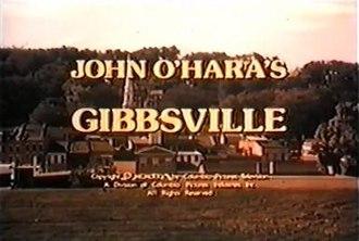 Gibbsville (TV series) - Image: Gibbsville title card