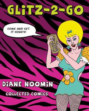 Diane Noomin - Cover of comix collection Glitz-2-Go