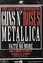 Metallica Tours Australia