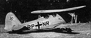 Gotha Go 145 - Image: Gotha Go 145 Biplane