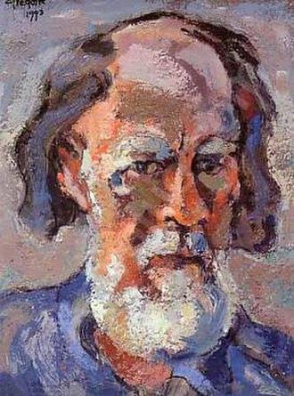 Gregoire Boonzaier - Self-portrait, 1993