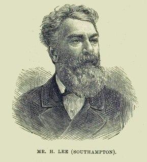 Henry Lee (Southampton MP) English Liberal Party politician