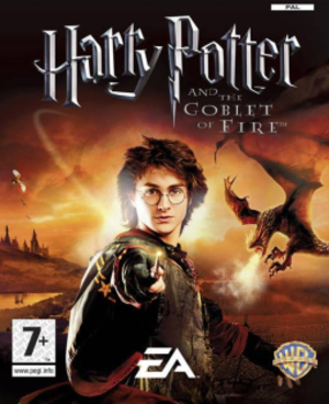 Harry Potter and the Goblet of Fire (video game) - PAL region cover art