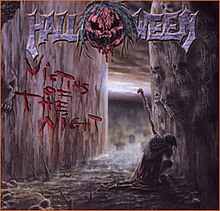Halloween Victims Of The Night Cover 2002 Reissue
