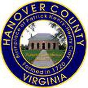 Hanover County, Virginia - Image: Hanover Seal
