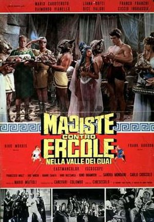 Hercules in the Valley of Woe - Film poster