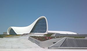 Zaha Hadid Architects - Heydar Aliyev Cultural Centre in Baku, Azerbaijan
