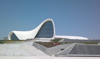 Heydar Aliyev Center - The Heydar Aliyev Center in 2012