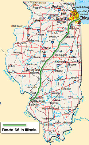 U.S. Route 66 in Illinois - Wikipedia