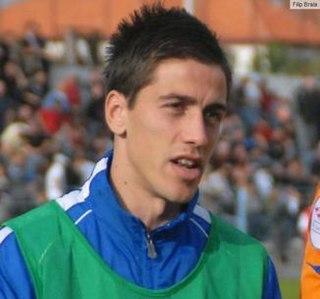 Hrvoje Ćustić Croatian footballer, died of injury sustained in game.
