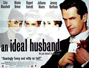 An Ideal Husband (1999 film) - UK Theatrical release poster