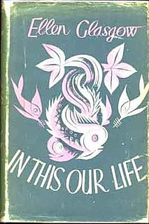 <i>In This Our Life</i> (novel)