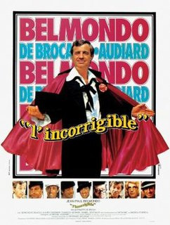 <i>Incorrigible</i> (film) 1975 film by Philippe de Broca
