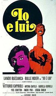 <i>Io e lui</i> 1973 film by Luciano Salce