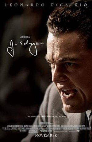 J. Edgar - Theatrical release poster