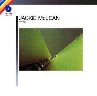 Vertigo (Jackie McLean album) - Image: Jackie mcclean vertigo 2