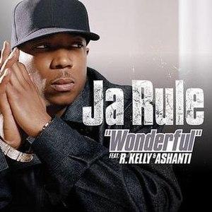 Wonderful (Ja Rule song) - Image: Jarulewonderful
