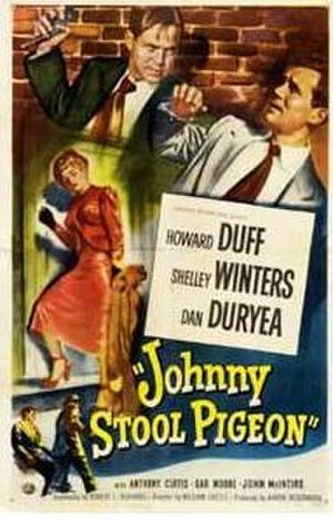 Johnny Stool Pigeon - Theatrical release poster