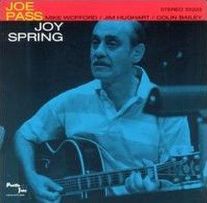Joy Spring (Joe Pass album) - Image: Joy Spring
