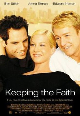 Keeping the Faith - Theatrical release poster