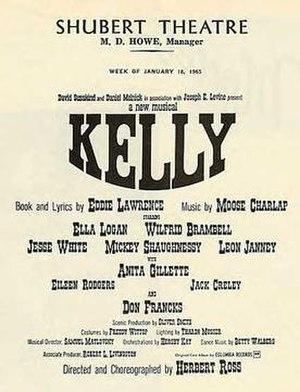 Kelly (musical) - Boston Playbill