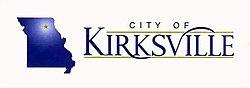 Flag of Kirksville, Missouri
