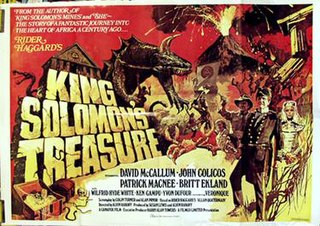 <i>King Solomons Treasure</i> 1979 film by Alvin Rakoff