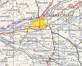 Kumbakonam - Image: Kumbakonam 1955