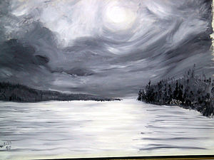 Lake Skaneateles Winter Night