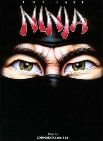 The Last Ninja - Cover art for the Commodore 64