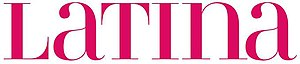 Latina (magazine) - Image: Latinalogo