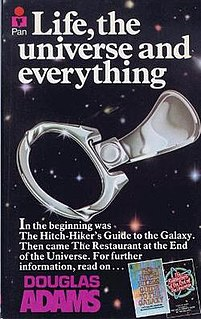 <i>Life, the Universe and Everything</i> 1982 book by Douglas Adams
