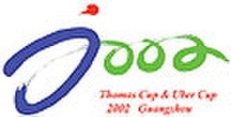 2002 Thomas & Uber Cup - Image: Logo tuc 02