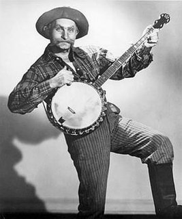 Grandpa Jones banjo player and singer from the United States