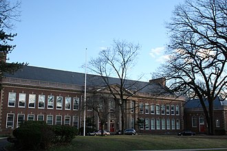 "Montclair High School (New Jersey) - The George Inness Annex (""Freshman Building"")"