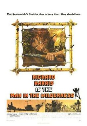 Man in the Wilderness - Promotional poster for the film