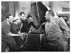 Mario Baroffio - Mario Baroffio in Bólidos de acero (1950)
