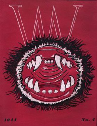 VVV (magazine) - The cover of the final issue was designed by Roberto Matta and depicted a vagina dentata.