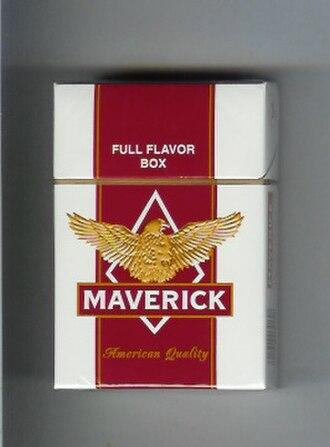 Maverick (cigarette) - Image: Maverick American Quality (Full Flavour)