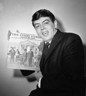Vaughn Meader - a publicity photo for The First Family