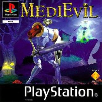 MediEvil - European cover art