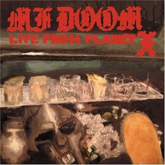 Live from Planet X - Image: Mfdoom livefromplanetx